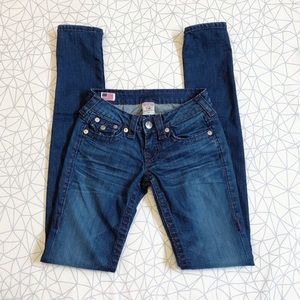 True religion jeans world tour skinny/low rise